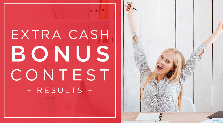 Wayal's Extra Cash Bonus Contest Rewards
